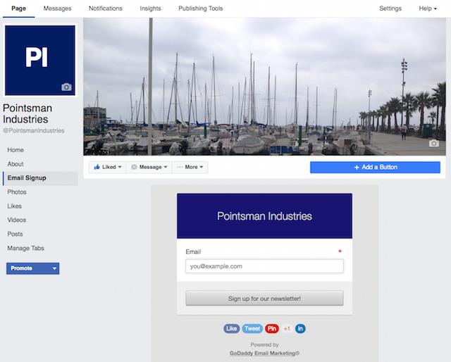 Facebook Sign up Form Sample