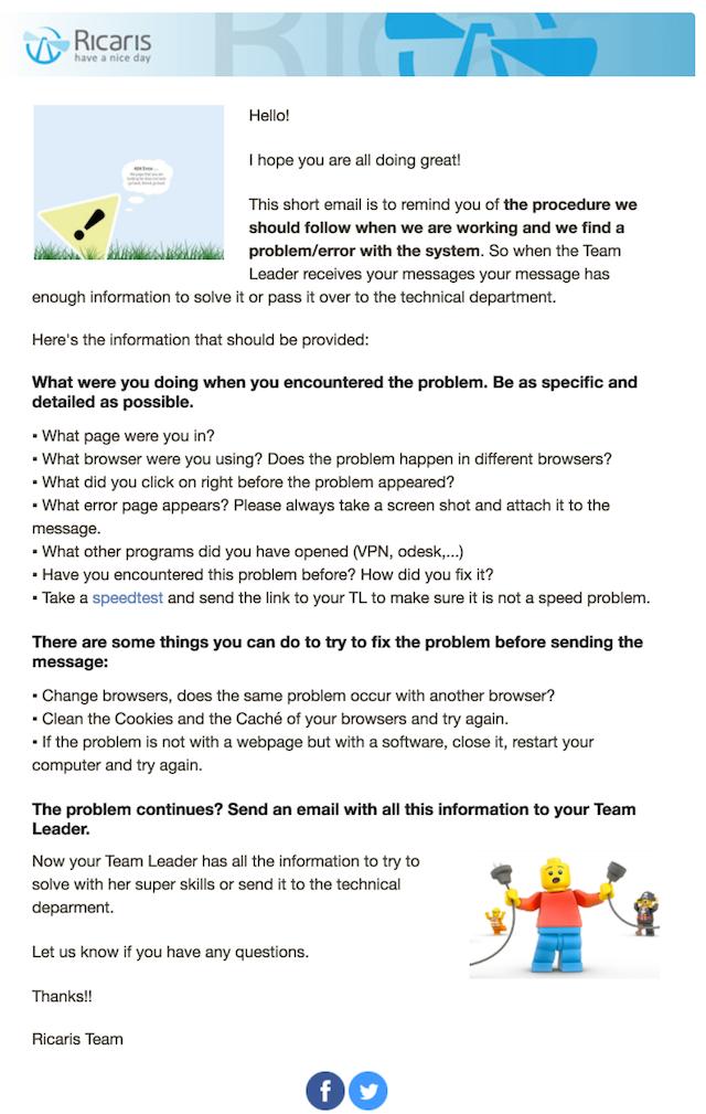 Email Inspiration Newsletter