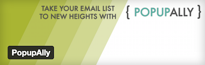 Email Opt-In PopupAlly