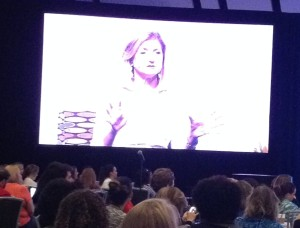 Arianna Huffington at BlogHer