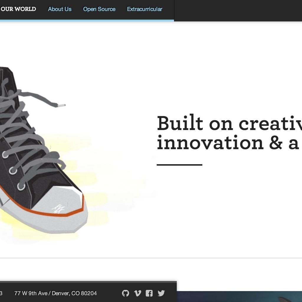 Homepage Design - Legworks