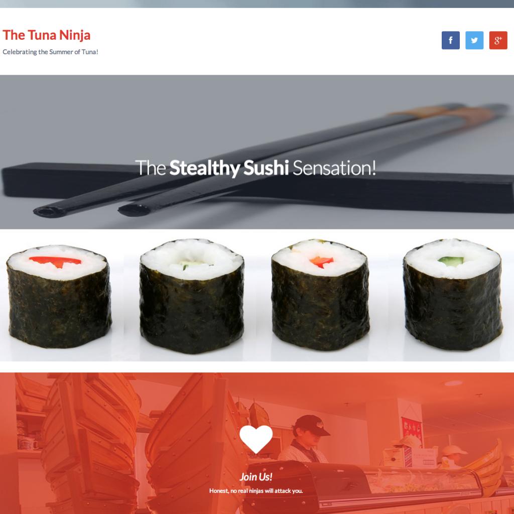 The Tuna Ninja