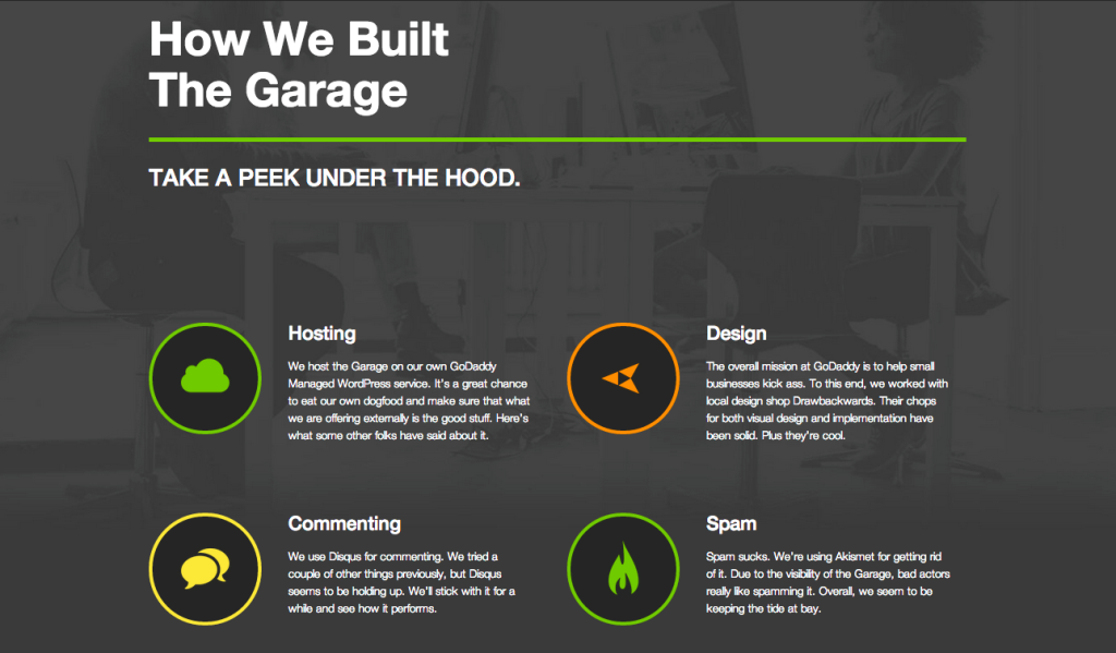 The Garage - A GoDaddy Blog