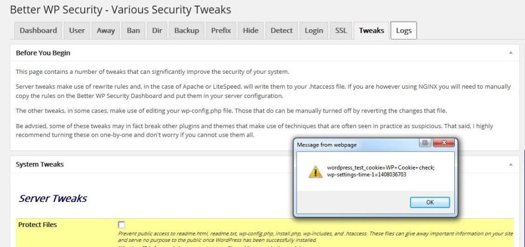 Admin Alert to Phishing Attack