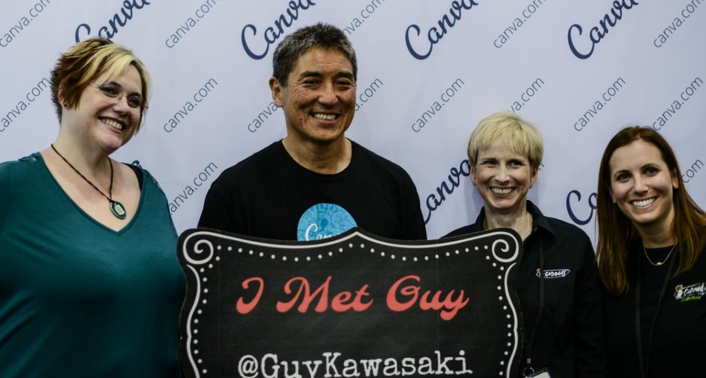 Guy Kawasaki at BlogHer