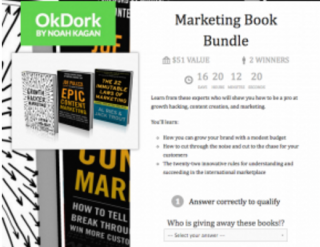 Grow Your Email List Giveaway