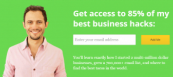 Grow Your Email List Home Gate
