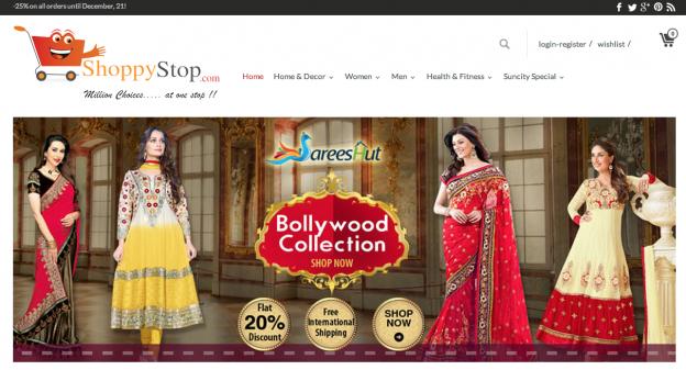 Online Store of ShoppyStop