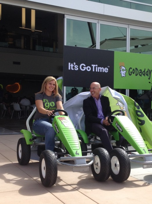 GoDaddy Peddle Cars