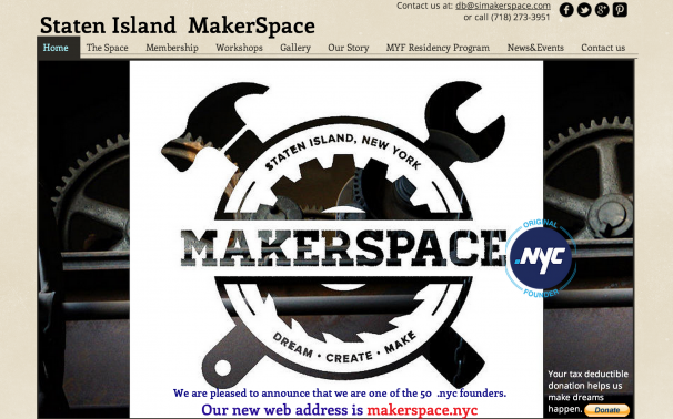 .NYC Domain Name - Makerspace.nyc