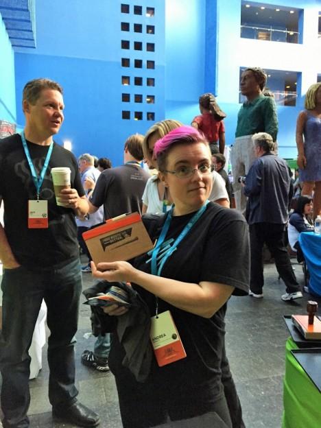 WordCamp San Francisco Swag