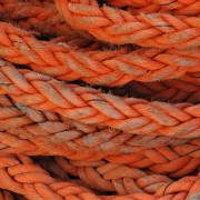 multiple strands of rope
