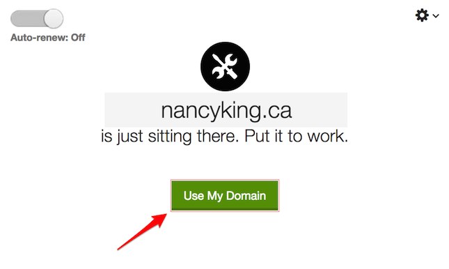 kickassd how to connect an existing domain