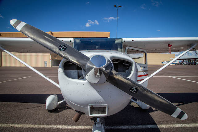 front of aerodyne cessna