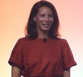 Christy Turlington Burns speaks at #BlogHer15