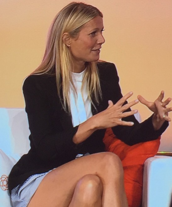 Gyneth Paltrow speaks at #BlogHer15
