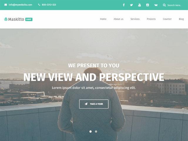 Maskitto WordPress theme