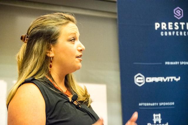 Jennifer Bourn at Prestige Conference