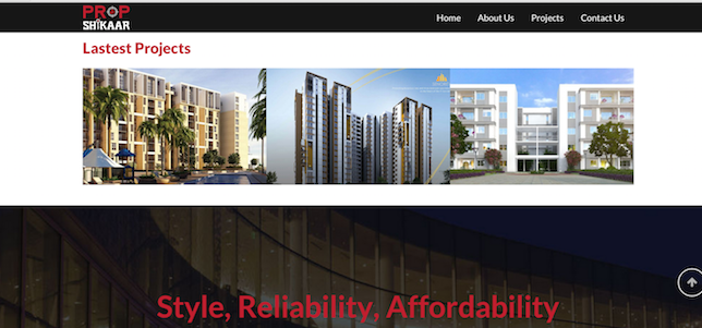 propshikaar-website-home-page