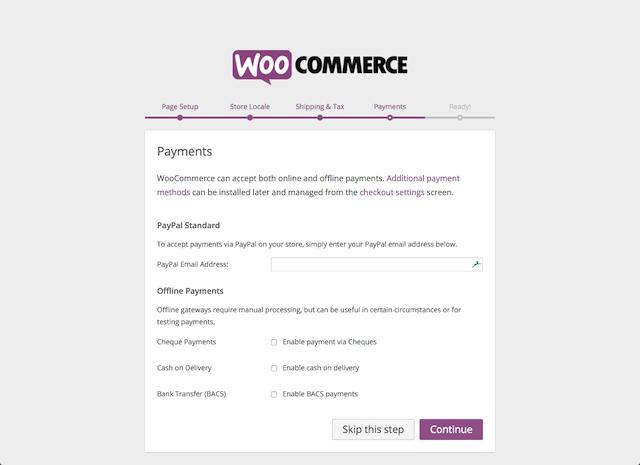 WooCommerce Payment Gateway Setup