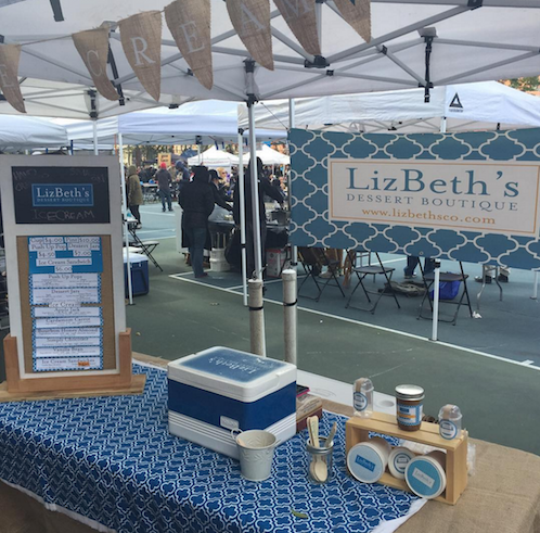 LizBeth's Dessert Boutique understands that consistency is key for brand recognition — and customer loyalty — when you're selling at craft fairs.