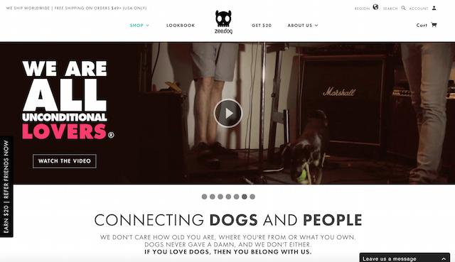 zeedog-website