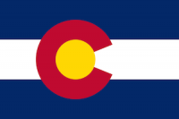 flag of colorado, which ranked No. 4 in best states to succeed with a small business