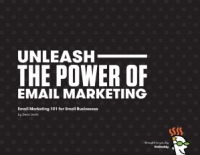 cover of email marketing guide, one of GoDaddy's free ebooks for small business
