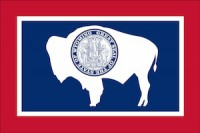 flag of wyoming, which ranked No. 5 in best states to succeed with a small business