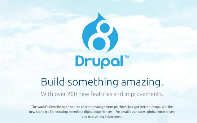 try drupal 8