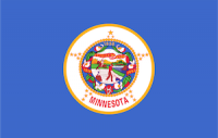 flag of minnesota, which ranked No. 6 in best states to succeed with a small business