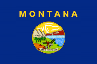 flag of montana, which ranked No. 7 in best states to succeed with a small business