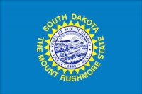 flag of south dakota, which ranked No. 3 in best states to succeed with a small business
