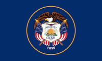 flag of utah, which ranked No. 2 in best states to succeed with a small business