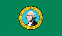 flag of washington, which ranked No. 9 in best states to succeed with a small business