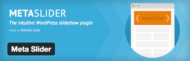 Free WordPress Plugins Metaslider