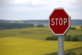 Web Design Clients Stop Sign