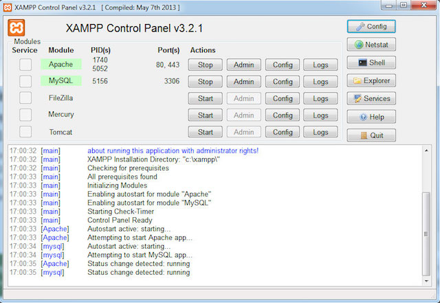 XAMPP for WordPress Development