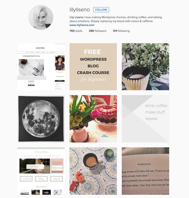 Lily Liseno Instagram
