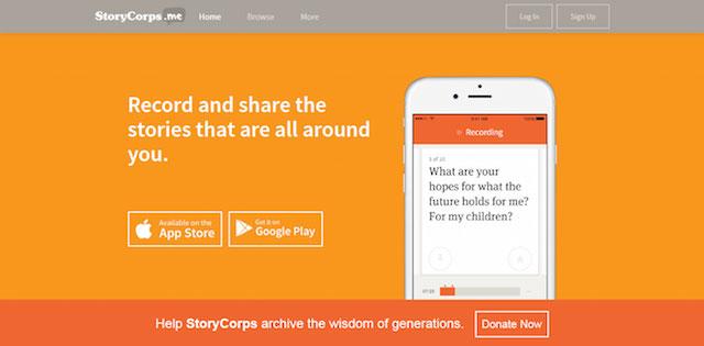 StoryCorps Uses WP REST API