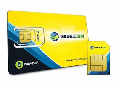 International SIM cards WorldSIM