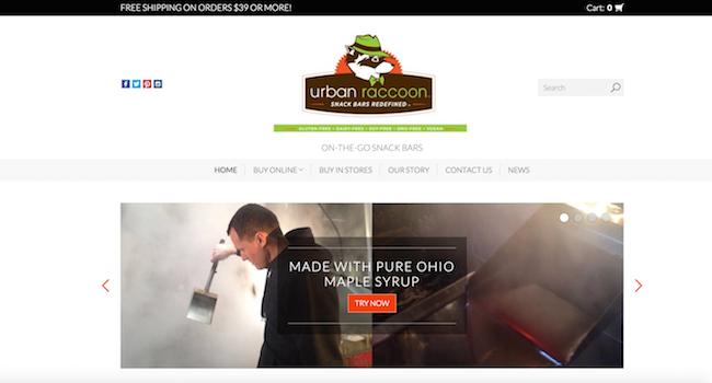 Urban Raccoon Website