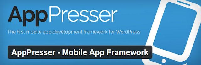 AppPresser Mobile App Framework