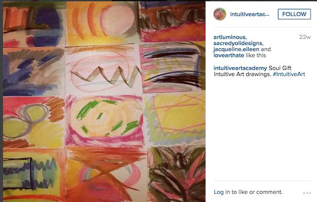 Intuitive Art Academy Instagram