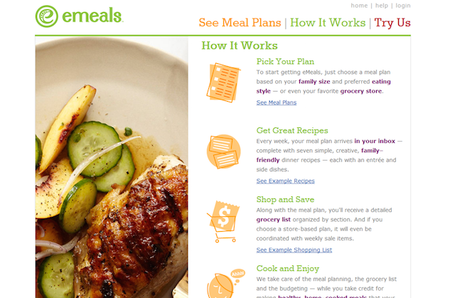 Emeals Website Content