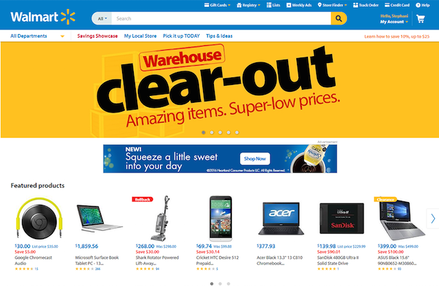 How To Design A Website Walmart