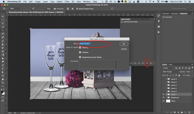 Photoshop Tricks Layer Comps