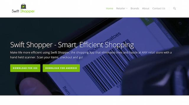 Swift Shopper Website