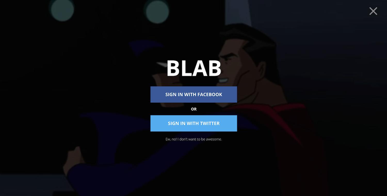 Blab Login Desktop