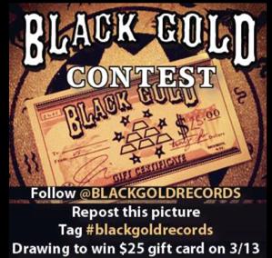 Black Gold Records Contest